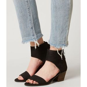 Lucky Brand | Barbina Leather Heeled Sandal
